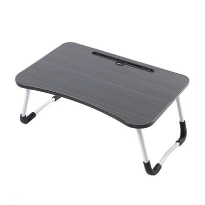 테블릿 홀더 접이식 좌식 테이블(블랙)