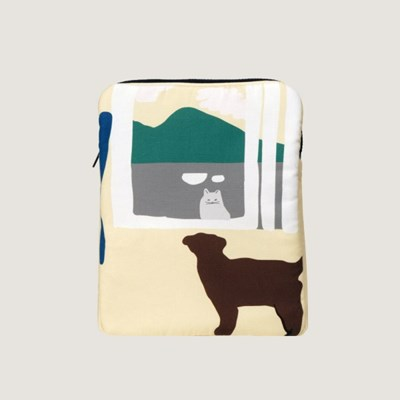 the window - yellow iPad / Tablet case