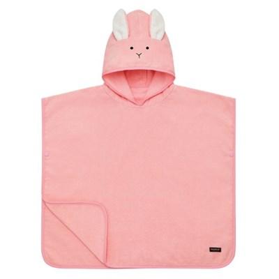 [쿵스쿵스] 토끼 양면목욕후드타월 유아비치가운 아기목욕가운