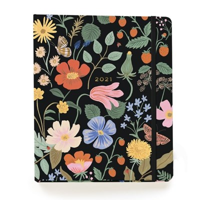 2021 Strawberry Fields 17 Month Planner