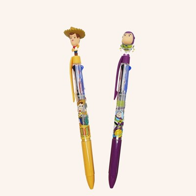 디즈니 토이스토리 3색 볼펜