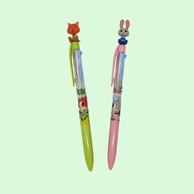 디즈니 주토피아 3색 볼펜