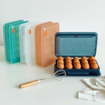 데이오프 날짜기억 냉장고 계란 보관함 4컬러_(1592304)