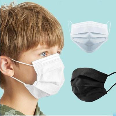 일회용 숨쉬기편한 소형 아동용마스크 10매 3중필터_(701769870)