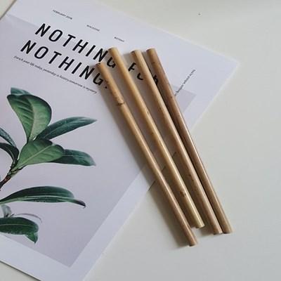 대나무 빨대 친환경 빨대