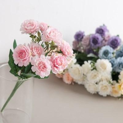 큐티다알리아부쉬 33cm 조화 꽃 인테리어 장식 FAIAFT_(1828940)