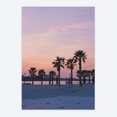 [메리필름] 제주 노을 A3 인테리어 종이 포스터