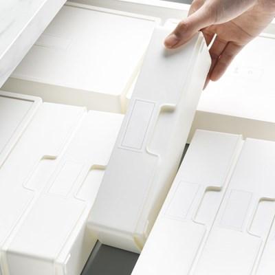 [아토소] 덮개형 서랍 칸막이 미니 리빙박스 소품 수납 화장대정리함