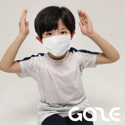 게이즈 키즈 일회용 덴탈 마스크 50매 개별포장 화이트