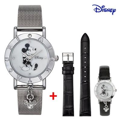 디즈니 미키마우스 여성 메쉬메탈 손목시계 OW035DBWM