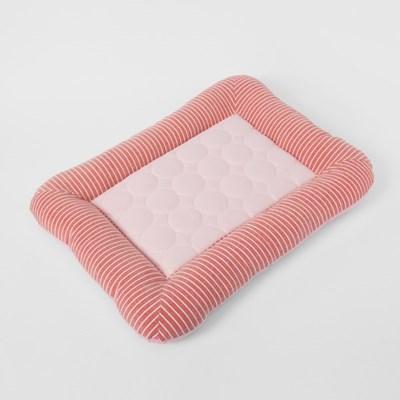 펫홈 애견 쿨방석(55x45cm) (핑크)/ 강아지 여름방석