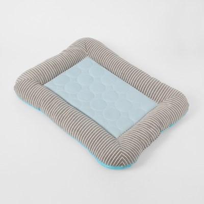 펫홈 애견 쿨방석(45x35cm) (블루)/ 강아지 여름쿠션