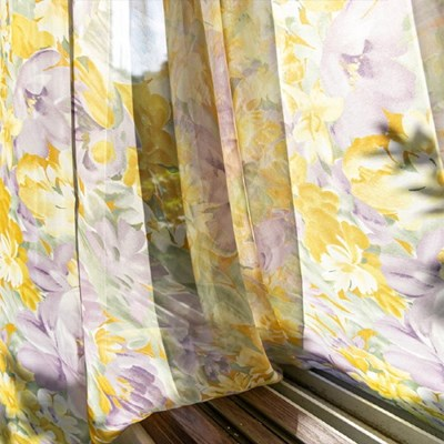 [Lavender Garden] 라벤더 가든 쉬폰 커튼 3 size
