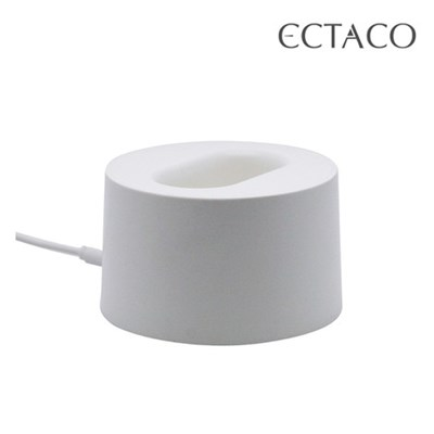 엑타코 휴대용 선풍기 고급형 충전 겸용 거치 크래들