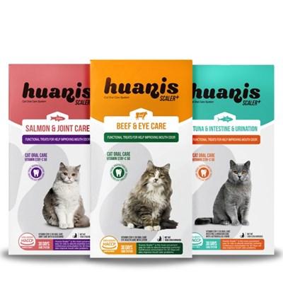 [사은증정]휴애니스 스케일러 플러스 150g 3종 고양이 치석제거