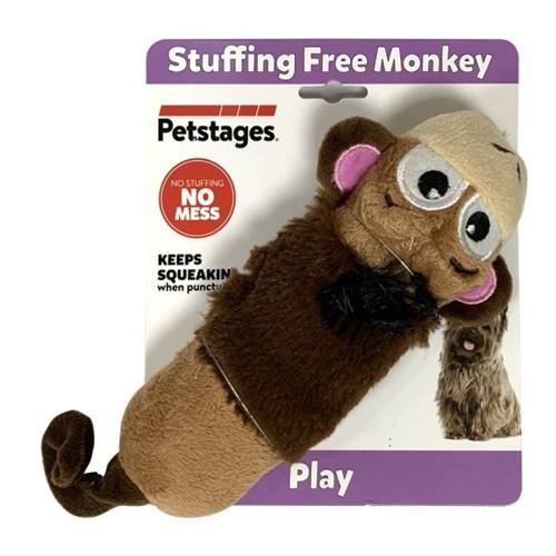 펫스테이지 강아지 개 장난감 스터핑 프리 몽키