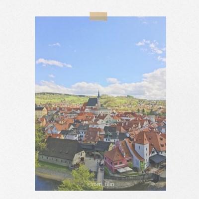 [메리필름] 체코 체스키크롬로프 A3 인테리어 종이 포스터