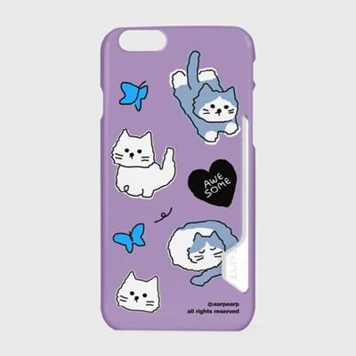 Awesome cat-purple(카드수납케이스)_(1617783)