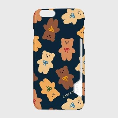 Dot ribbon bear-navy(카드수납케이스)_(1617748)