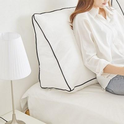 삼각 대형 등받이 쿠션 침대 소파 다리 베개 10color_(1343956)