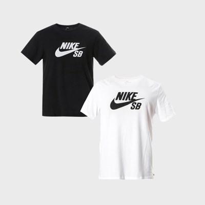 나이키 SB로고 반팔 티셔츠 2종/화이트/블랙/ AR4209