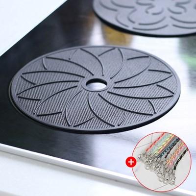 아야 실리콘 인덕션 보호매트 받침대 논슬립커버 유리섬유
