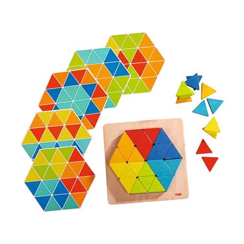 하바 피라미드 패턴 블록_(301812208)
