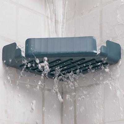 욕실선반 코너선반 모서리선반 클린 물빠짐선반 4개 1set