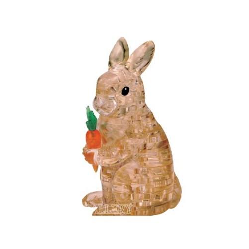 3D입체퍼즐 토끼 - 브라운 CP901594_(1205450)