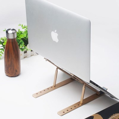 노트북 맥북 휴대용 접이식 거치대 T2