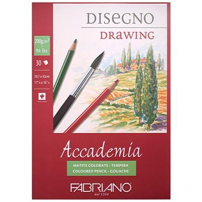 [파브리아노] 아카데미아 스케치북 패드 / 과슈 / A3 /_(12649468)