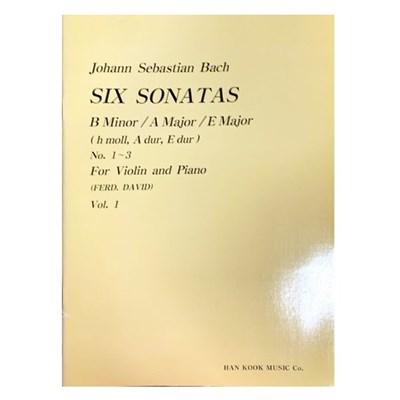 (전시상품)SIX SONATAS B Minor  A Majo E Major