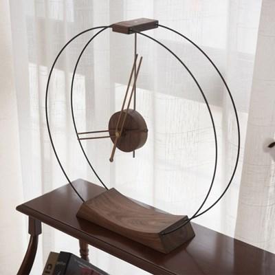 먼로 원형 탁상시계