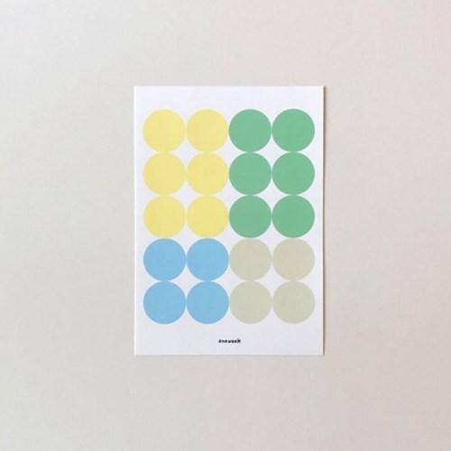 Dot sticker - spring 01