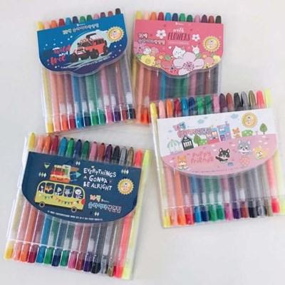 비팬시 슬라이더색연필