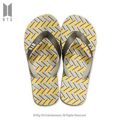 [BTS 공식라이선스] BTS IDOL 플립플랍 샌들_그레이