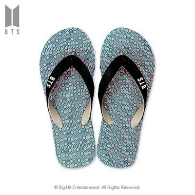 [BTS 공식라이선스] BTS IDOL 플립플랍 샌들_민트