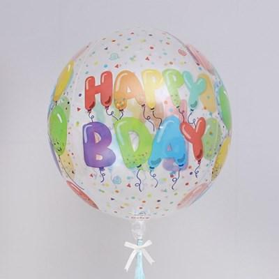 옹브레 은박풍선 40cm 생일 셀러브레이션