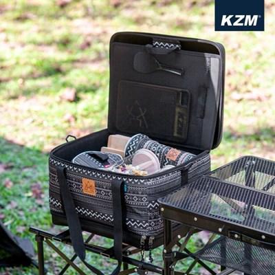 카즈미 쉐프 박스 K20T3K004 / 캠핑 키친툴세트 식기세트 코펠 캠핑