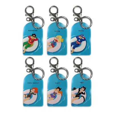 Flexible Key holder_Super family vacation_Vol.02 (L Size)