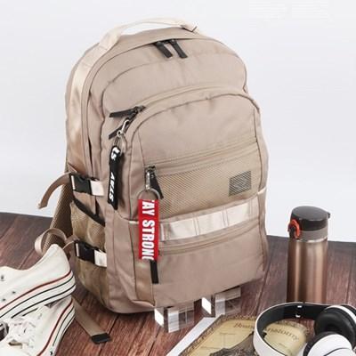 남자 여자 메쉬 포켓 수납 가방 캐주얼 학생 백팩