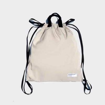 mtl gym bag (beige/navy)