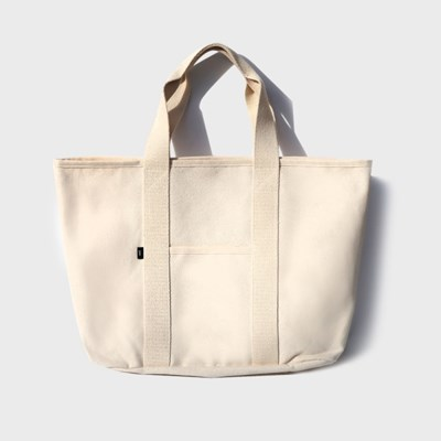 mtl tote bag (natural beige/white)