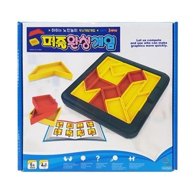 퍼즐완성게임/퍼즐놀이/도형퍼즐/사고력향상/유아두뇌발달