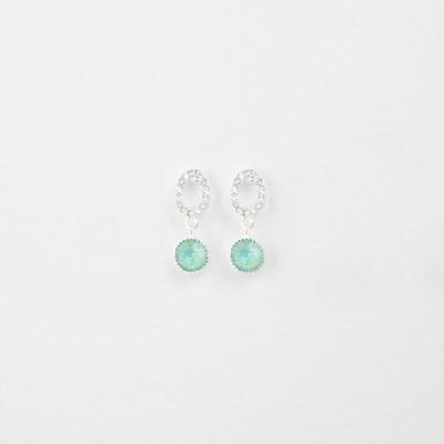 [쥬디앤폴] 엘리야 컬러 포인트 드롭 귀걸이 E51534