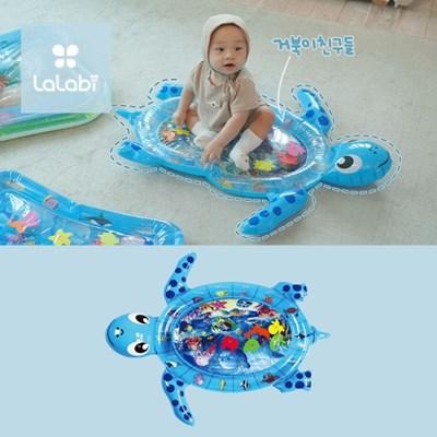 라라비 워터매트 거북이친구들 플레이매트 촉감 놀이 매트
