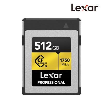[렉사] 공식판매원 Professional CFexpress Type B 512G_(1131428)