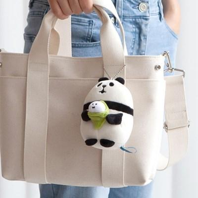 데꼴 쫀득 키링 인형 팬더