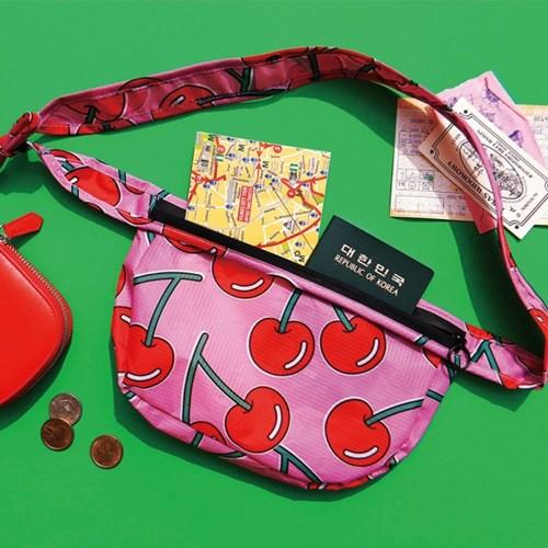 [위글위글] 웨이스트백 waist bag