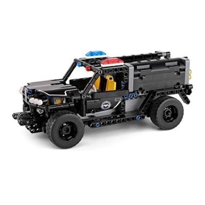 블럭 테크닉 스마트 폴리스 장갑차량 블럭RC 431pcs